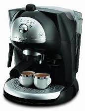DeLonghi EC 410.B, Plata/Negro, 1100 W, 230 V, 50/60 Hz - Máquina de café: Amazon.es: Hogar