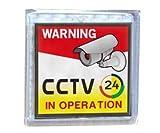 3.15'' x 3.15'' Solar Flash CCTV Warning Signboard