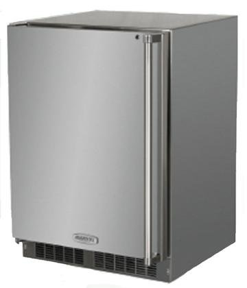 Marvel MO24RAS2LS 24'' Outdoor Refrigerator with 6.5 Cu. Ft. Capacity Dynamic Cooling Technology Marvel Prime Controls MaxStore Utility Bin Door Storage Close Door Assist System and by Marvel