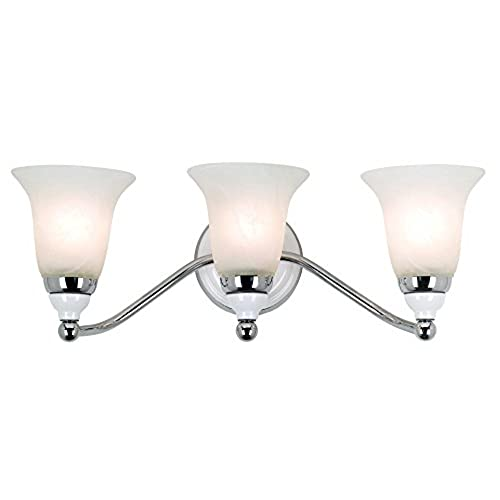 Derby Collection 20 3 4 Wide Chrome Bathroom Light Fixture Outlet