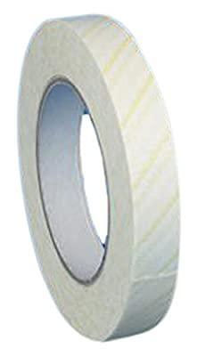 "Globe Scientific 601051 Borosilicate Glass Indicator Tape, Dry Heat Sterilization, 3/4"" W x 165' L"