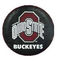 Ohio State University Tire Cover - Black Size J