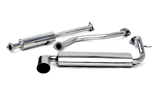 Honda Civic 3dr Spoon - Yonaka Honda Civic 88-91 EF Full Performance Catback Exhaust 3DR Hatch Only