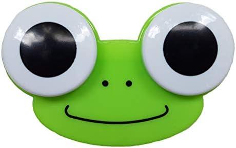 Portalentillas – Vaso para lentillas – Lentillas mensuales – Lentes blandas y duras – Animales (rana, osito, pollito y búho) – 5 colores – Recipiente para lentes de contacto: Amazon.es: Salud y cuidado personal