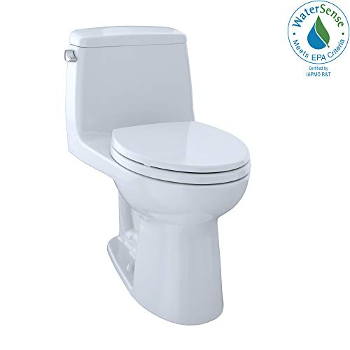TOTO MS854114EG#01 Eco Ultramax Elongated One Piece Toilet with Sanagloss