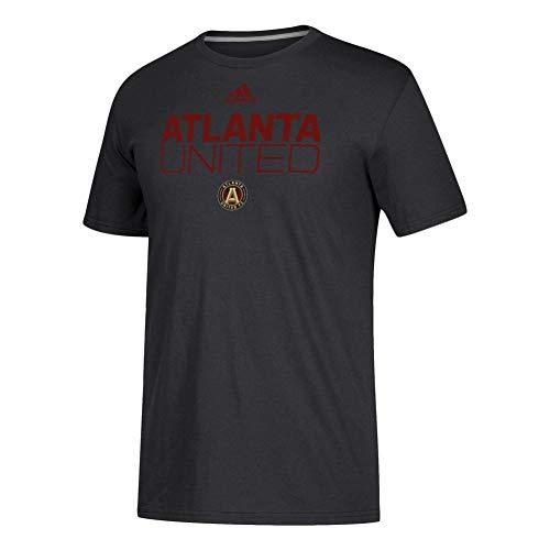 adidas Men's Atlanta United FC Alternate Locker Room SS Tee (Small)