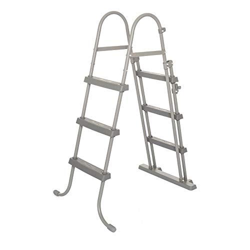 🥇 Bestway 58330 – Escalera para Piscina Desmontable 107 cm