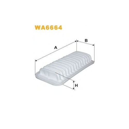 Wix Filter WA6664 Air Filter: