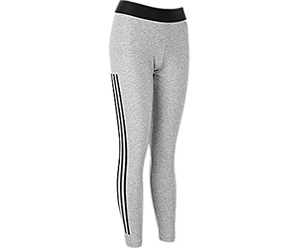 a4bdc39ee adidas Women's Must Have 3-Stripes Tight, Medium Grey Heather/, Medium  Medium