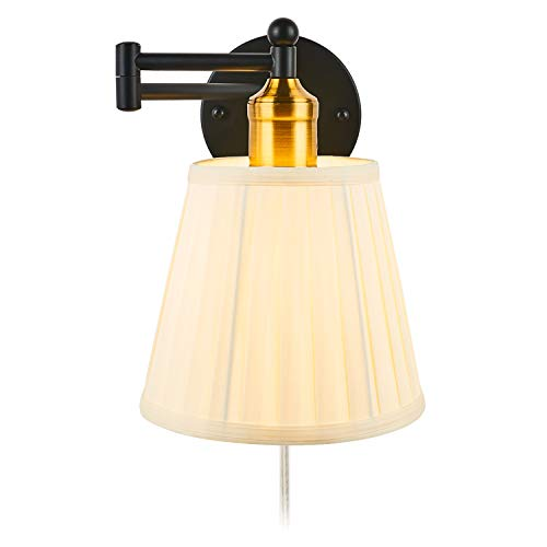 Side Wall Light Sconce - ELEVEN MASTER Swing Arm Wall Light 7.1