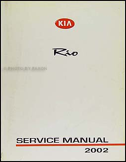2002 kia rio repair shop manual original amazon com books rh amazon com 2002 kia rio manual transmission problems 2002 kia rio manual transmission problems