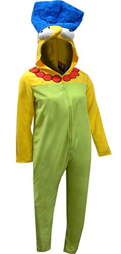 Briefly Stated Women's The Simpsons Marge Union Suit, Green, Large ()