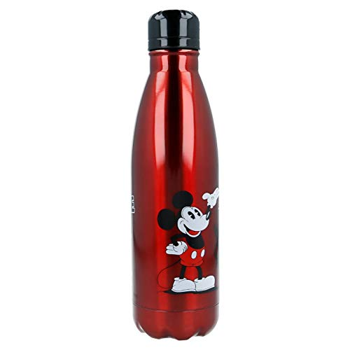 Stor Botella Acero Inoxidable 750 ML Mickey 90 Young Adult: Amazon.es: Juguetes y juegos