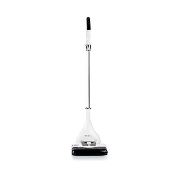 [SSAKS] AMC-1301B Cordless DUAL SPIN & AQUA Vaccum Cleaner 220V & Free Gift (Key Ring) (White)