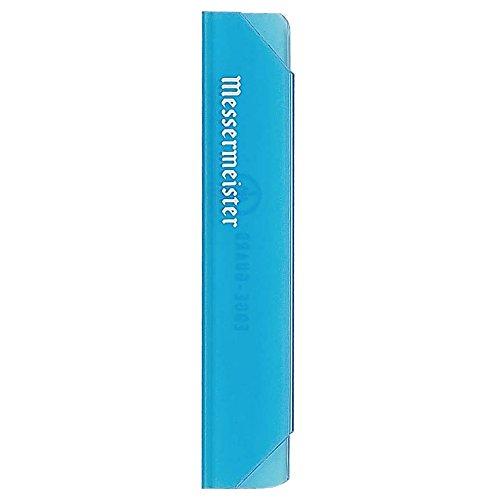 Messermeister Tomato Knife (Messermeister Parer Edge-Guard, 4-Inch, Translucent Blue)