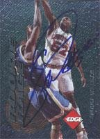 Collectors Edge Card Autographed (Samaki Walker Dallas Mavericks 1996 Collector's Edge Autographed Card - Nice Card. This item comes with a certificate of authenticity from Autograph-Sports. Autographed)