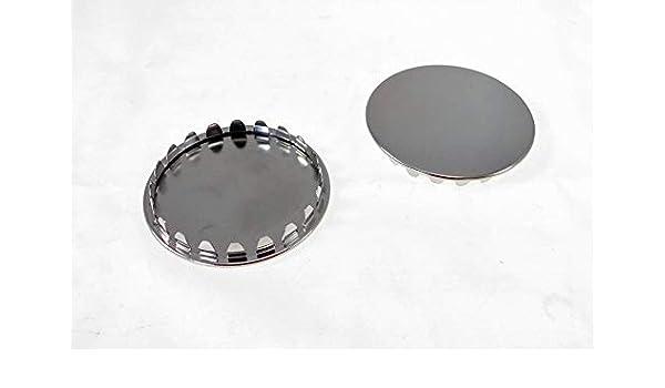 """2 Pack 1-7//8/"""" Metal Hole Plugs Nickel Plated SP-1.875-NK"""