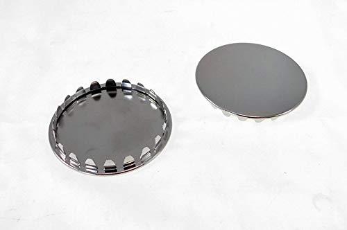 2 Pack 2'' Metal Hole Plugs- Nickel Plated - SP-2.0-NK
