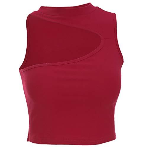 AOJIAN Tunic Sweatshirts for Women,Tunic Sweater,Tunic Dress,Tank Tops for Women,Tank Tops for Men,Tank Tops,Tank Tops with Built in Bra,Tankini Swimsuits for Women with Shorts Red by AOJIAN (Image #2)