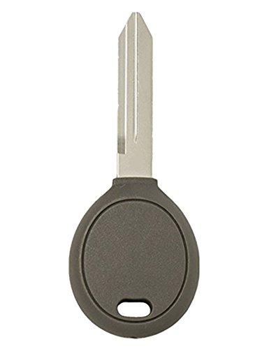 KAWIHEN Uncut Transponder Ignition Key Blank Replacement for Chrysler Dodge Jeep Y164-PT ()