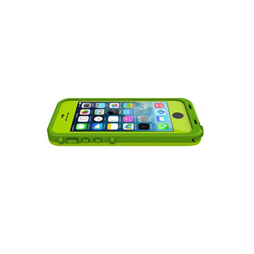 newest ca8d8 3a95c LifeProof FRE SERIES Waterproof Case for iPhone 5/5s/SE - Retail Packaging  - LIME (DARK LIME/LIME) (Discontinued by Manufacturer)