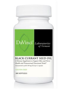Davinci Labs - Black Currant Seed Oil 180 gels by DaVinci Laboratories of Vermont (Image #1)