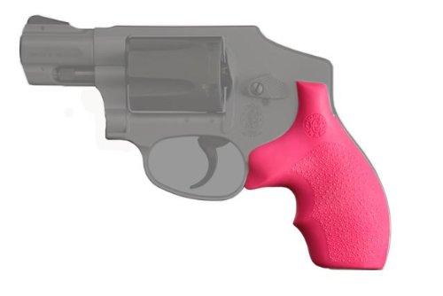 Hogue-SW-J-Frame-Round-Butt-Rubber-Bantam-Style-Grip-Pink