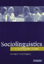 Sociolinguistics: The Study of Speakers' Choices: 1st (First) Edition PDF ePub fb2 book