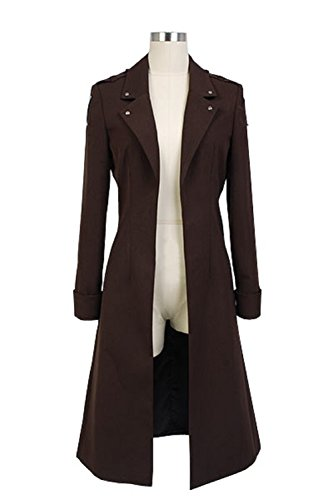 Cosplaybar Attack on Titan Eren Jaeger New Coat Cosplay Costume Female XS (Attack On Titan Cosplay Eren)