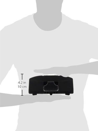 BQLZR Schwarz-Aluminiumfenster Cabinet Pull Ring Federlast Automatische T/ürriegel Riegel-Verschluss mit Schrauben