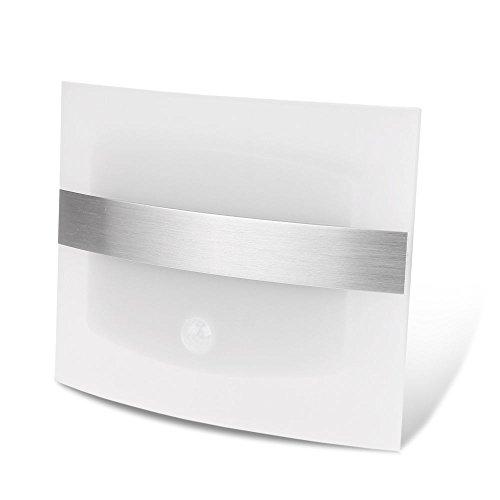Nestling® LED Wandleuchte Kabellos batteriebetrieben Nachtlicht mit bewegungsmelder