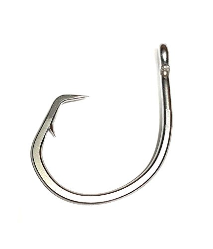 - Riptail 96180F Forged Stainless Steel Circle Hooks (Size 16/0 25 Pack)