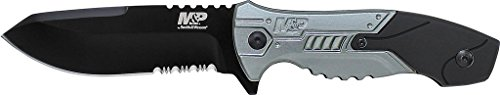 Smith & Wesson SWMPF2BS Military & Police Full Tang Fixed Blade Knife