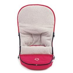 - Bugaboo Frog Footmuff Color: Red