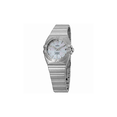 Omega Double Eagle Mother of Pearl Ladies Watch 1590.70