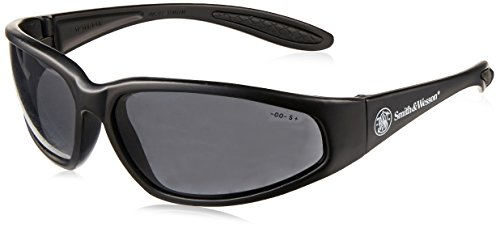 Smith & Wesson 138-19859 38 Special Safety Eyewear, Polycarbonate Anti-Scratch Lenses, Black Nylon Frame, One Size, - Glasses 38 Safety Special