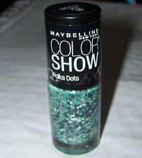 New Maybelline Color Show Nail Lacquer Polka Dots -55 Drops of Jade (Nail Polish Maybelline Color Show compare prices)