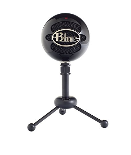 Blue Snowball USB Microphone Black (Renewed)