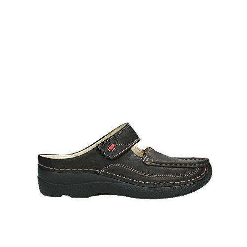 Sneaker Wolky Cuir donna Marron 10300 7d6dAq1nx