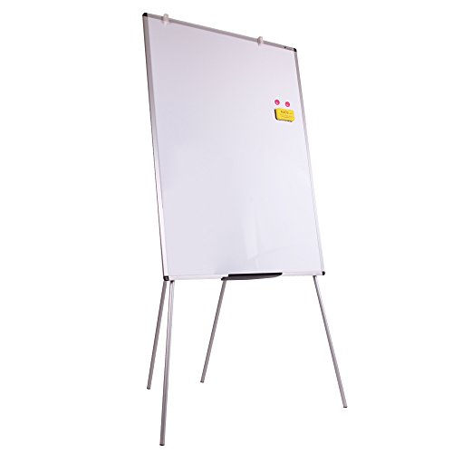 VIZ-PRO Light Magnetic Four Legs Stand Whiteboard/Flipchart Easel,36'' W x 48'' L by VIZ-PRO (Image #2)