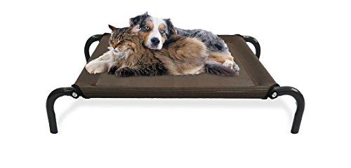 Dog Cat Bed Pet Indoor Outdoor Kennel Camping Steel Frame...