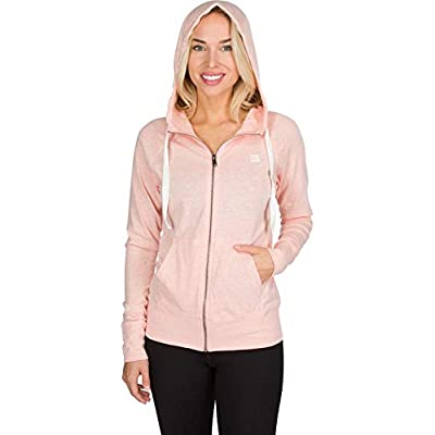 Dry Fit Sweatshirts for Women, Lightweight Zip Up Hoodie Sweater - Full Zip Hooded Jacket: Clothing