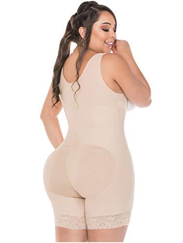 Salome 0217 Full Body Shaper for Women Fajas Postparto Colombianas Reductoras y Moldeadoras