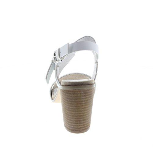 CAFE' NOIR LB912 doppia fibbia bianco 203 BNC Taglia 39