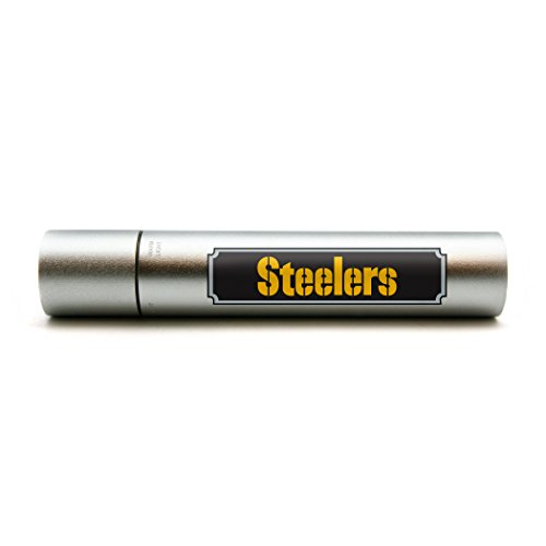 NFL Pittsburgh Steelers Portable Battery Charger / Flash Light / Hand ()