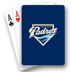 MLB San Diego Padres Playing Cards