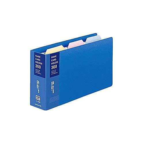 (まとめ)コクヨ 名刺ホルダー(替紙式) 2穴300名 タテ入れ 青 メイ-30B 1冊 【×10セット】 生活用品 インテリア 雑貨 文具 オフィス用品 名刺収納 カードファイル 14067381 [並行輸入品] B07L35RG6B