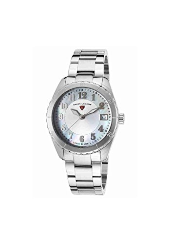 Swiss Legend Women's 16003SM-02-SET Sea Breeze Analog Display Swiss Quartz Silver Watch