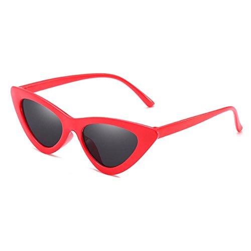 Cat Vintage C2 Marco Sunglasses Triangle Eye Retro UV400 Pequeño hibote Sombras 6q7RxW