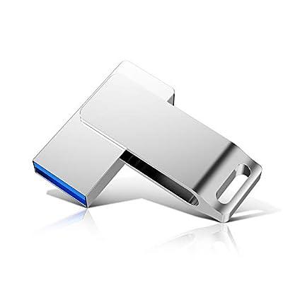 512gb USB 3.0 Flash Drives Pen Drive Memory Stick Thumb Drive USB Drives?silver1? by SZJIAYI
